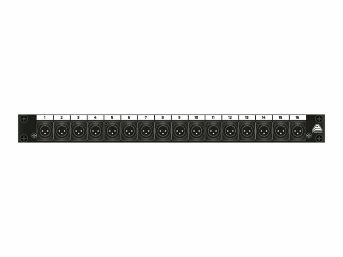 panel xlr m 1x16