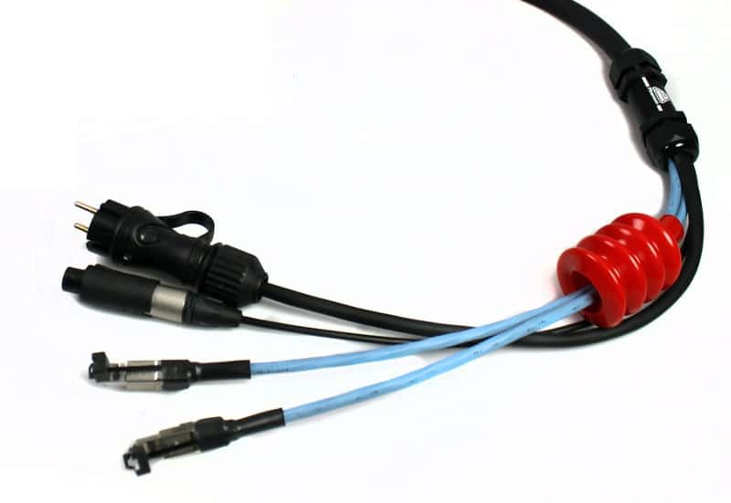 snake cat6 audio aesebu power