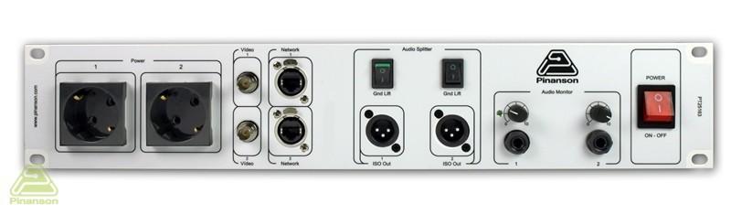 amplificador auriculares splitter audio conexiones pt25163