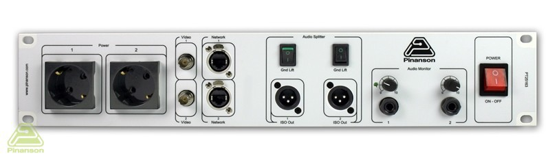 amplifier headphone audio splitter connections pt25163