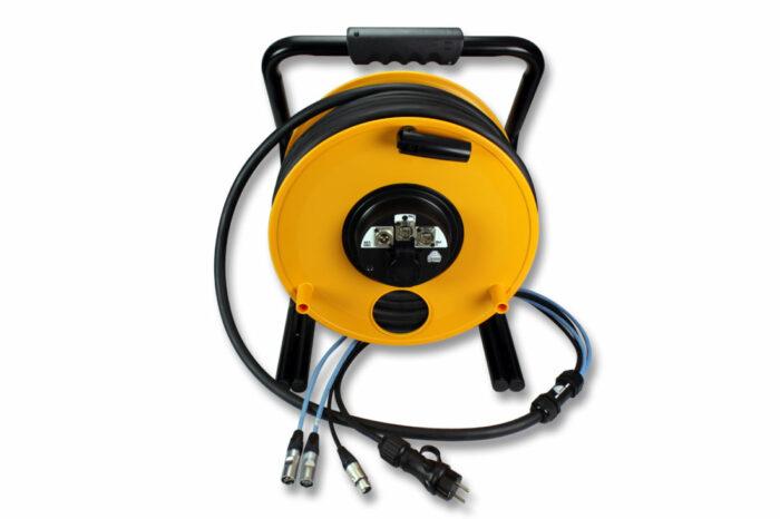Snake 2 CAT.6 F/UTP + 1 audio AES/EBU + Power. Con enrollador