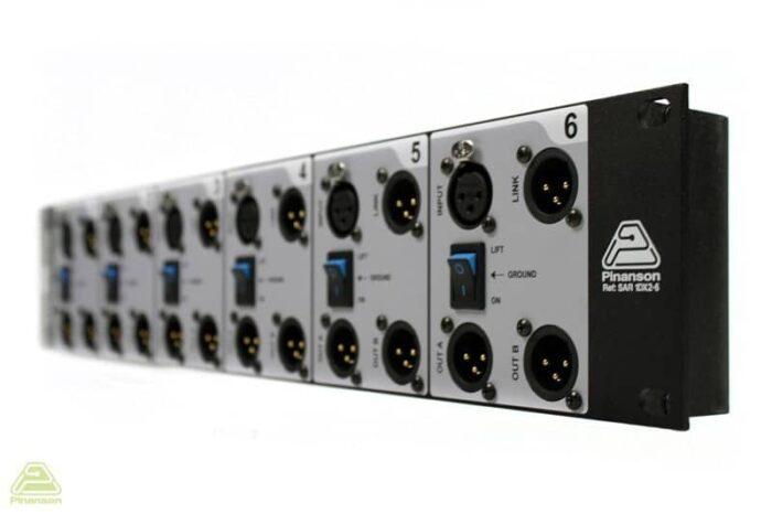 splitter audio micro linea varios canales