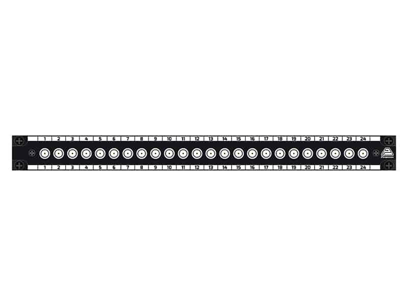 patch panel bnc 3g-sdi 1x24 pt22365