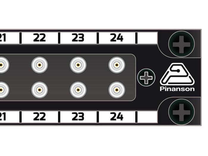 patch panel din 2x24 pt23889