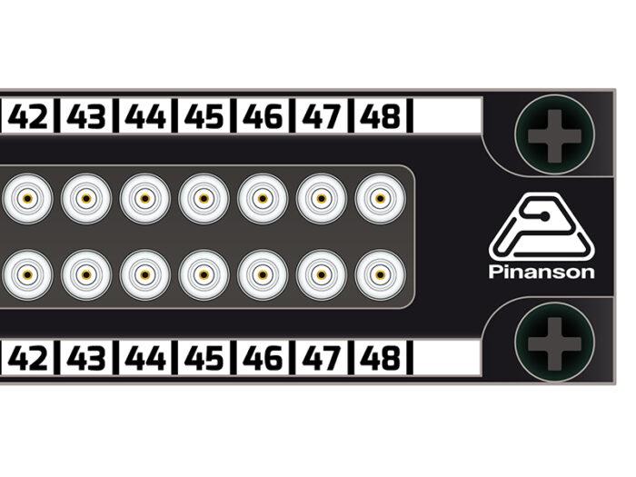 patch panel din 2x48 pt23755