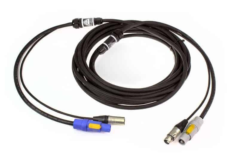 pre wired cable digital audio power