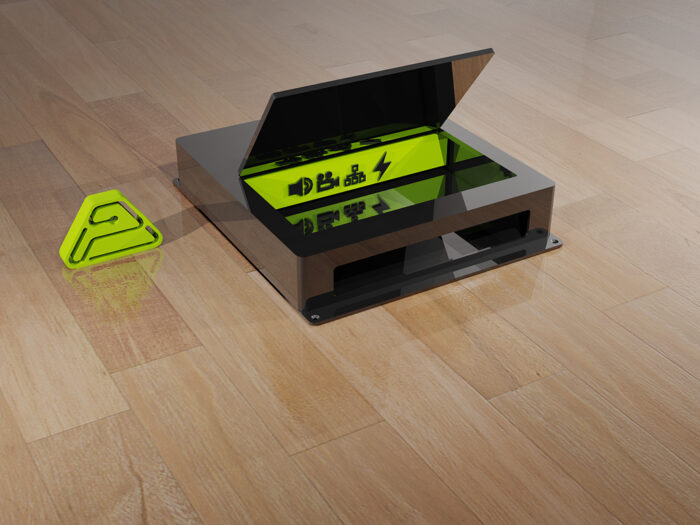 surface cuboid box horizontal