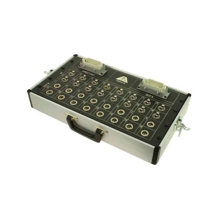 splitter audio micro linea xlr multipin