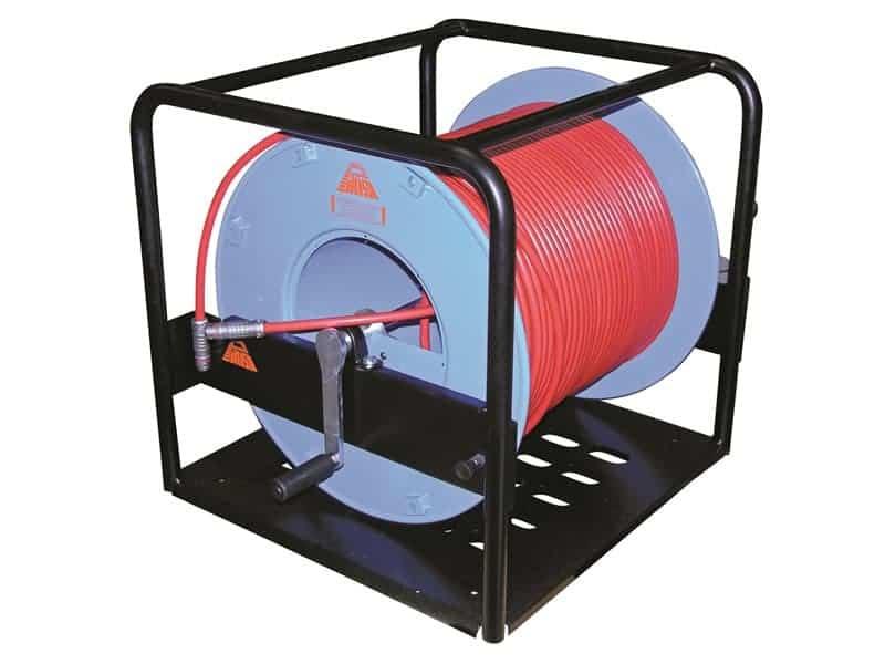 cable terminado triax enrollador