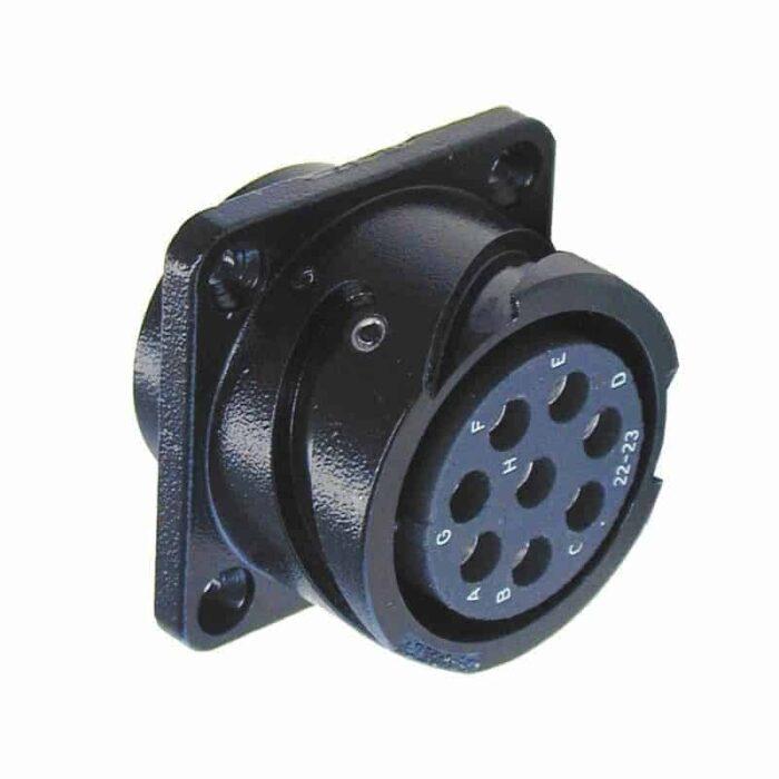 speaker cac com 8 connector panel