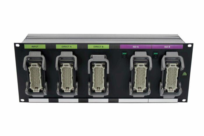 splitter audio mic line multi