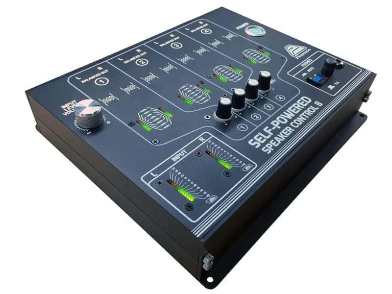 controlador volumen entrada desbalanceada
