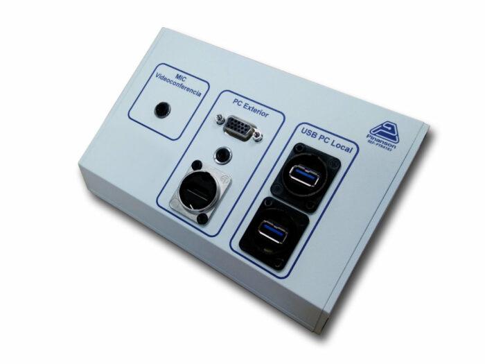 Caja superficie angulada PTR4183