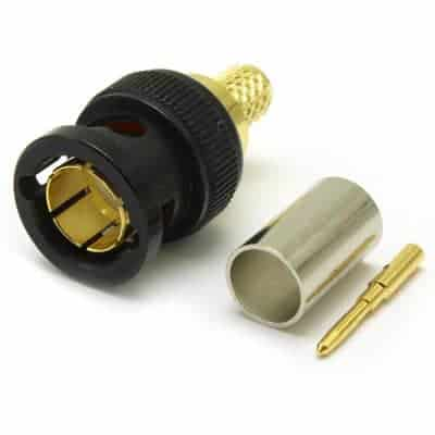 12gsdi bnc plug connector m1302