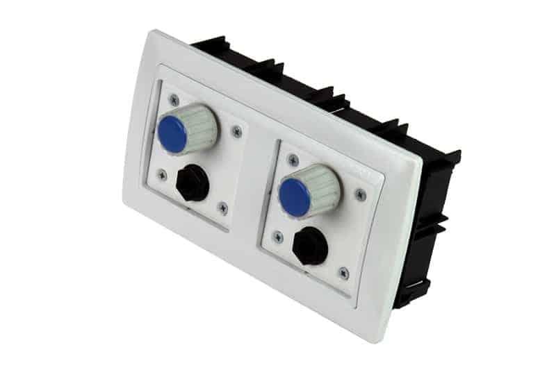 controlador volumen auriculares wall plate pt15169