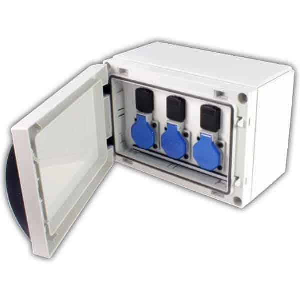 caja exterior plastico ip66 pt16757