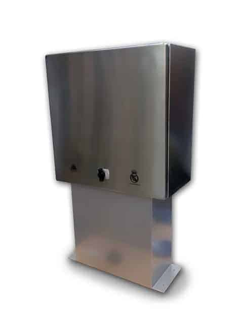 caja exterior inoxidable ip66 peana pt26705