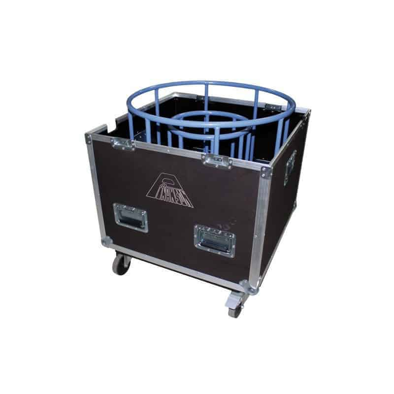 cable reel hight capacity g fly case pt2750