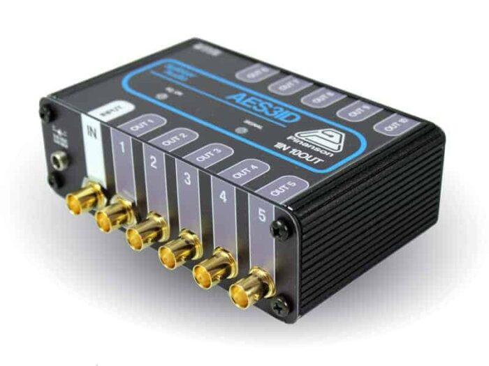 splitter audio digital sda ptr1217