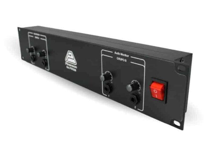 amplificador auriculares 2 canales ptr1238