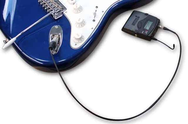 pre wired cable audio guitar ptr1605