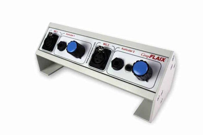 controlador volumen auriculares 2 canales ptr1705