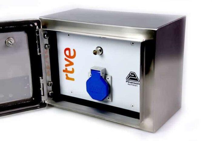 caja exterior inoxidable ip66 ptr1871