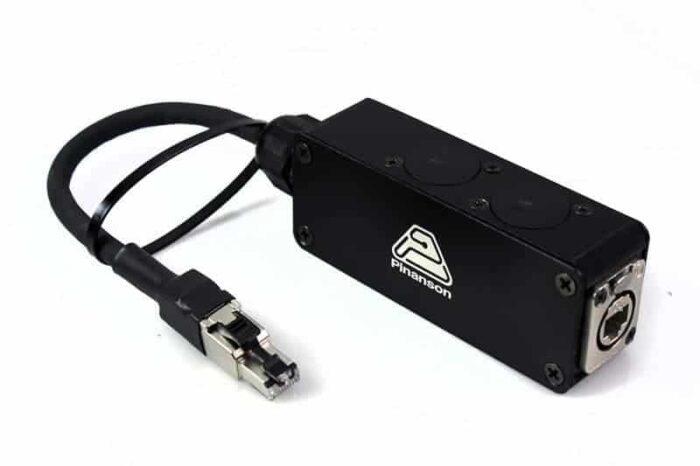 Adaptador RJ etherCon keystone PTR3693