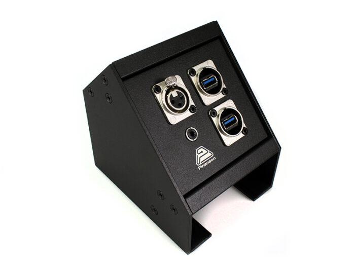 av box angled xlr-usb-jack 3.5