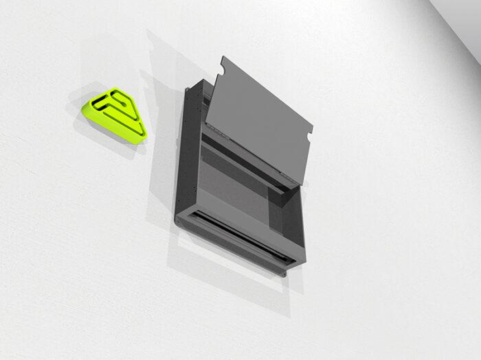 surface cuboid box open