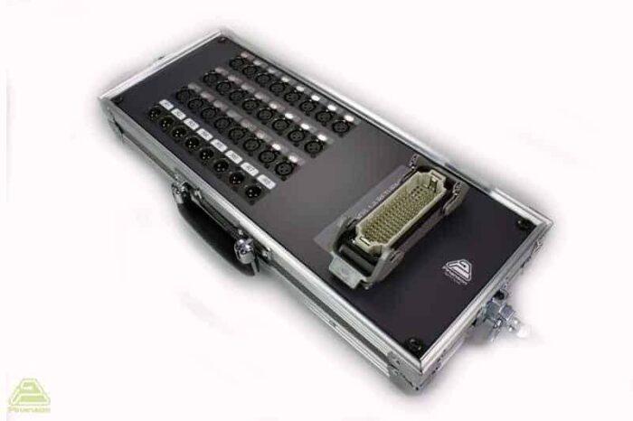 stage box audio maletin pt18192