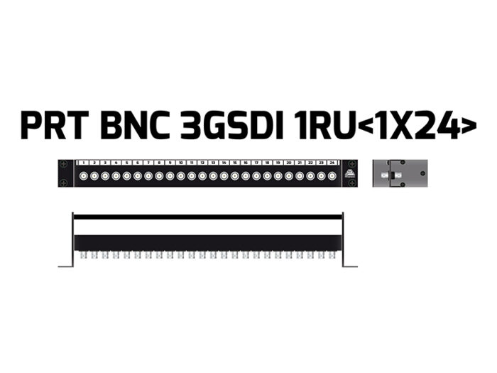 patch panel bnc inner 1x24 ptr3234