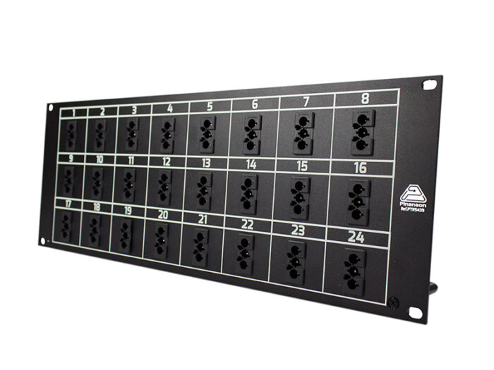 patch panel 24 wieland ptr3157