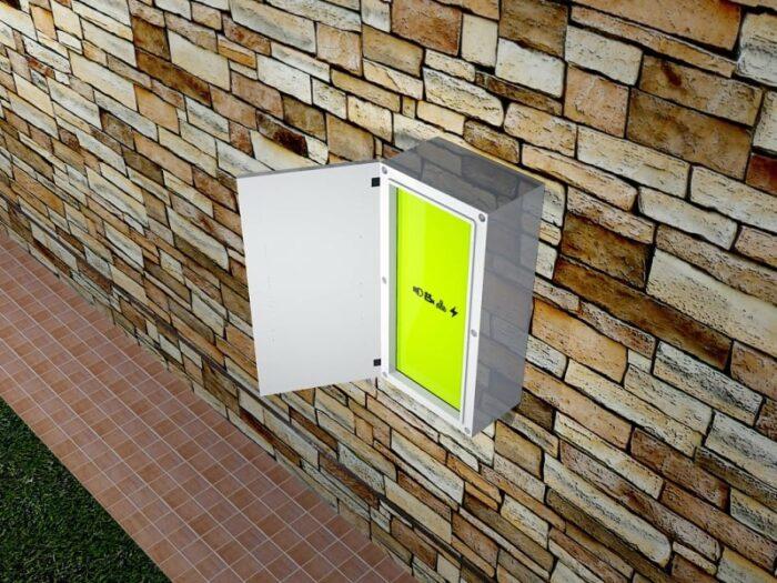 caja exterior plastico ip66