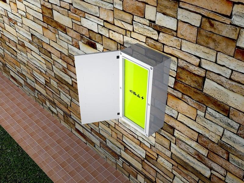outdoor box ip66 plastic