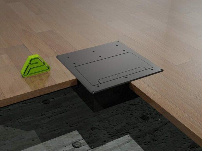 caja suelo cuboid ins