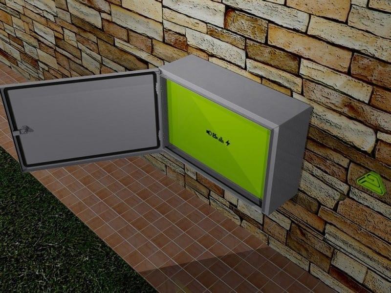 outdoor box ip66 inox