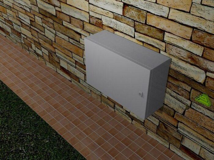 caja exterior inoxidable ip66