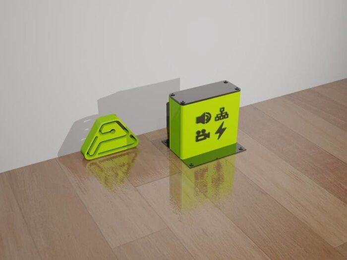 caja superficie mf