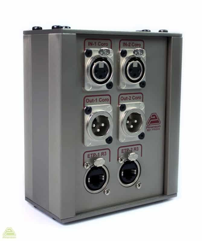 caja superficie aluminio estandar panel ptr3910