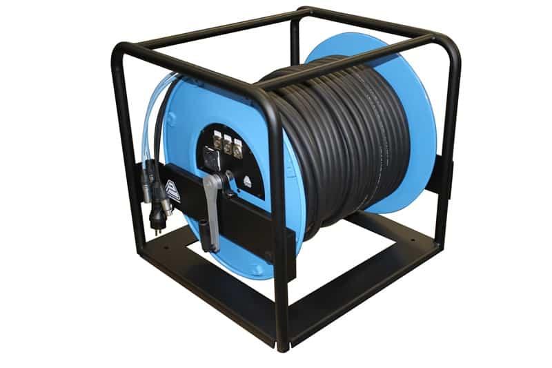 Snake 2 CAT6 1 audio AESEBU Power enrollador PTR3031