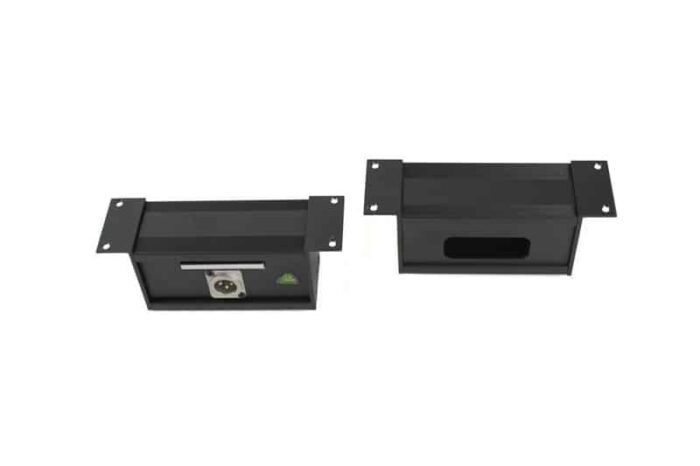 caja superficie aluminio estandar panel ptr7125
