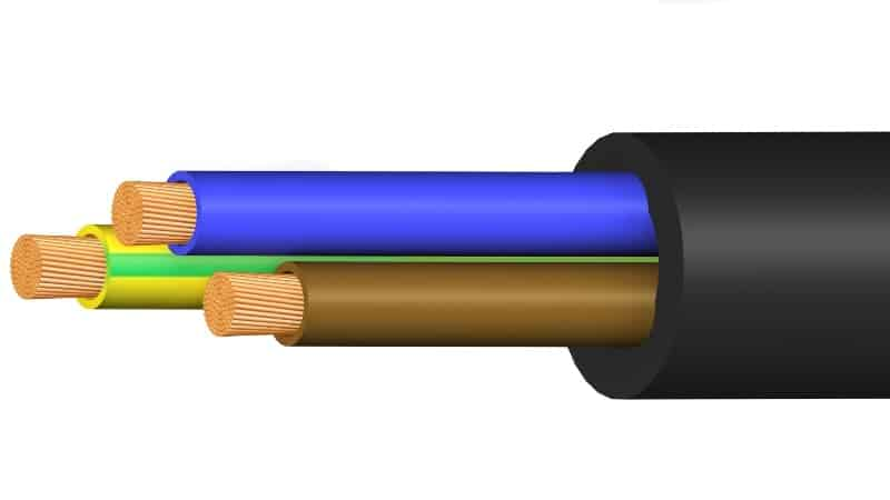 cable power h07rnf m2013