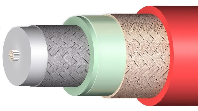 cable triax 11 flexible