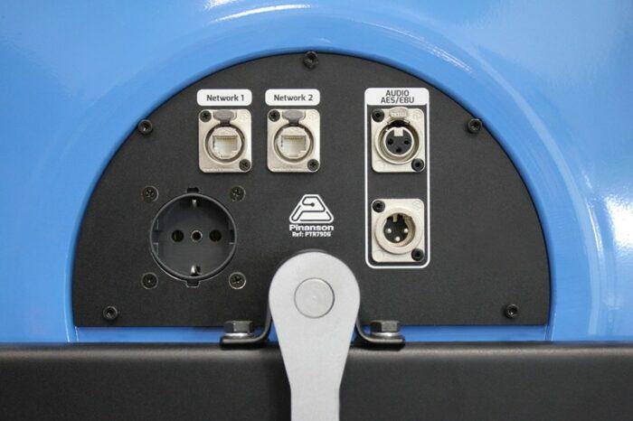 snake 2 cat6 1audio aesebu power enrollador ptr7906