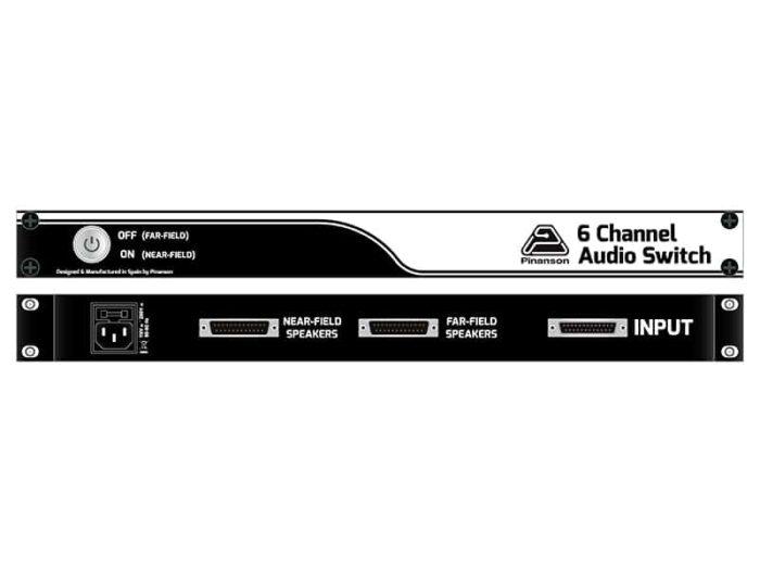 switch 6 canales de audio ptr8540