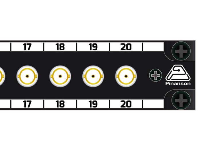 Patch panel 20 BNC 12gsi