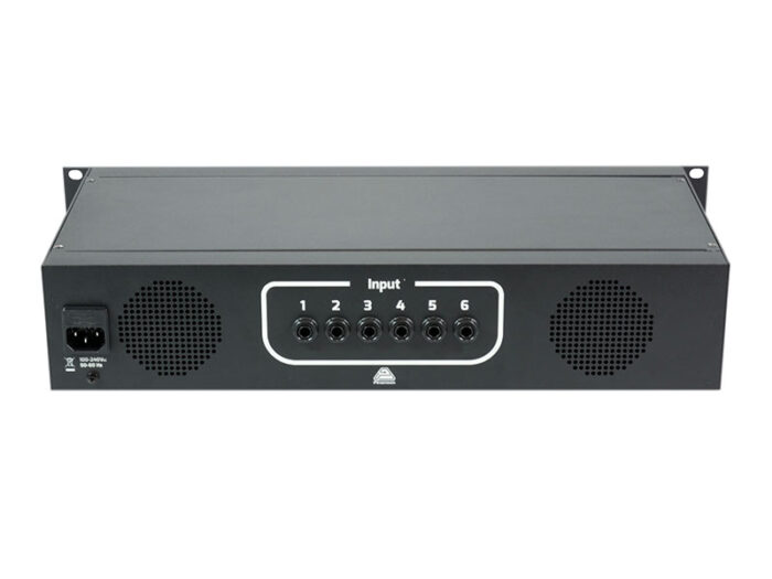 6 channels selector and speaker