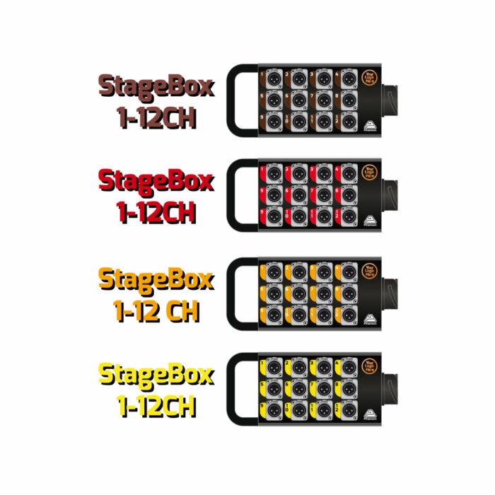 DIGICO D2-Rack remote boxes