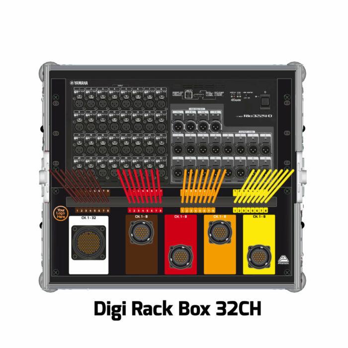 RIO Rio3224-D Digi Rack Box